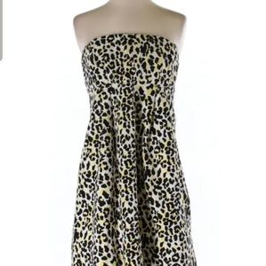 Michael Kors Animal Print Dress w/ Pockets Size 10